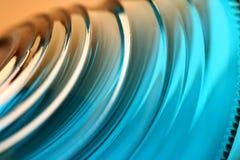 голубой коричневый цвет к Стоковая Фотография