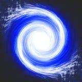 голубой космос влияния Стоковые Изображения