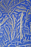 голубой кристаллический серебр картины стоковые фото