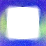 голубой кристаллический уговор рамки Стоковые Изображения