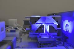 голубой лазер Стоковое Изображение RF