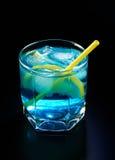 голубой лимон коктеила Стоковые Фотографии RF