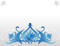 голубой лотос Стоковая Фотография RF