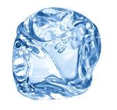 голубой льдед кубика Стоковые Фотографии RF
