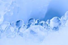 голубой льдед Стоковые Фотографии RF