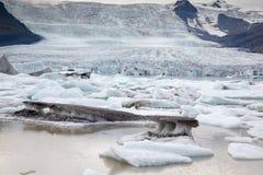 Голубой льдед Стоковые Изображения