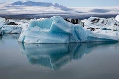 Голубой льдед Стоковое Изображение