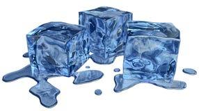 Голубой льдед иллюстрация вектора