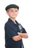 голубой мальчик Стоковое Изображение