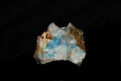 голубой минерал Стоковое Изображение