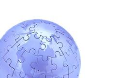 голубой мир Стоковые Изображения RF