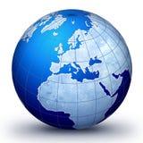 голубой мир Стоковые Изображения