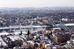 Голубой мост интереса Стоковое Изображение RF
