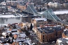 Голубой мост интереса Стоковое Фото