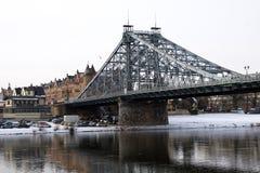Голубой мост интереса Стоковое фото RF