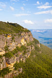 голубой национальный парк гор Стоковые Фотографии RF
