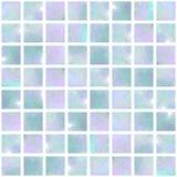 голубой опал мозаики безшовный Стоковые Фотографии RF