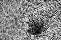 голубой орнамент мечети двери Стоковое Фото