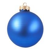 голубой орнамент рождества Стоковое фото RF
