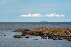 Голубой остров девственницы стоковые изображения rf