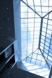голубой офис потолка Стоковая Фотография RF