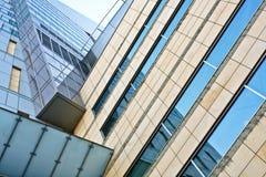 голубой офис Стоковая Фотография