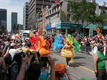 Голубой парад гордости, Торонто, 2011 Стоковые Фотографии RF