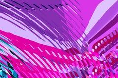 Абстрактная современная предпосылка Творческие красочные формы и формы Геометрическая картина Голубой пинк и пурпурная яркая граф иллюстрация вектора