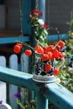 голубой помеец декора Стоковая Фотография RF