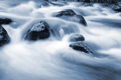 голубой поток стоковое изображение
