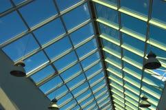 голубой потолок Стоковые Фото