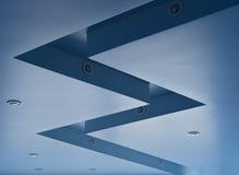 голубой потолок Стоковое Изображение RF
