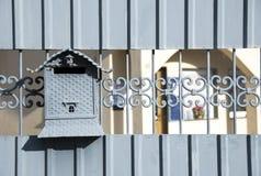 голубой почтовый ящик Стоковая Фотография RF