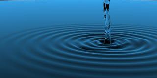 голубой представленный рентгеновский снимок выплеска 3d Стоковые Изображения