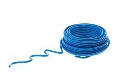 голубой провод Стоковые Фотографии RF
