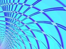 голубой провод Стоковые Изображения RF