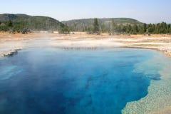 голубой пруд Стоковые Фотографии RF