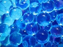 голубой пузырь Стоковые Изображения