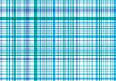 голубой пурпур шотландки картины Стоковое Изображение