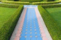 голубой путь стоковая фотография rf