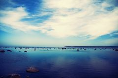 голубой рай Стоковые Фотографии RF