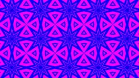 Голубой розовый калейдоскоп диско бесплатная иллюстрация