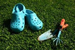 голубой садовничать Стоковая Фотография RF