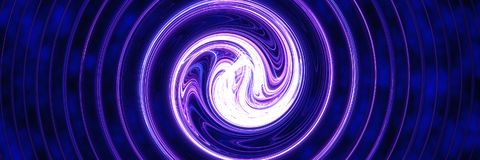 голубой светлый вортекс Стоковые Изображения
