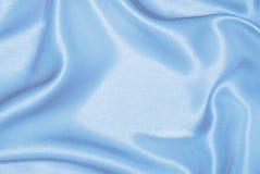 голубой светлый шелк Стоковые Фото