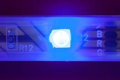 Голубой свет водить стоковая фотография rf