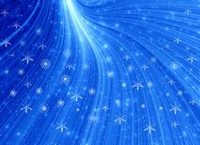 голубой свет рождества бесплатная иллюстрация