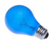 голубой свет шарика Стоковые Изображения
