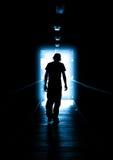 голубой свет Стоковое Фото