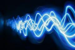 голубой свет Стоковые Изображения